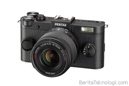 Pentax Q-S1 Kamera Mirorless Style Retro