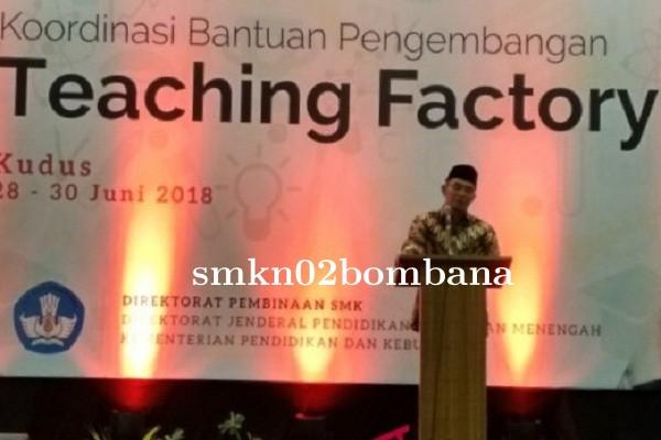 "Program \""Teaching Factory\"" Tiga Roda untuk SMK"